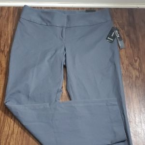 Alafani Gray Slim Leg Pants